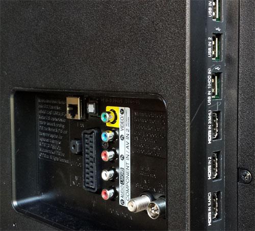 LG 42LA620V подключения