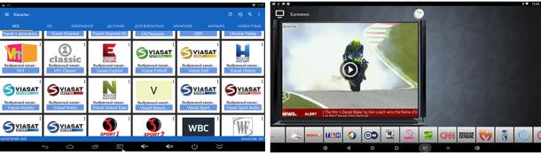 Smart TV box INVIN - форматы