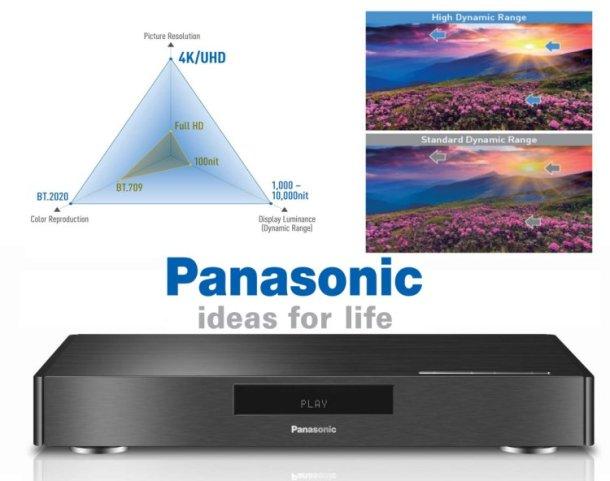 Panasonic blu 4k