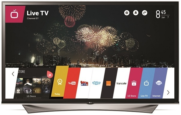LG WebOS 2.0 interface