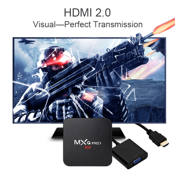 Smart TV box INVIN - HDMI 2.0